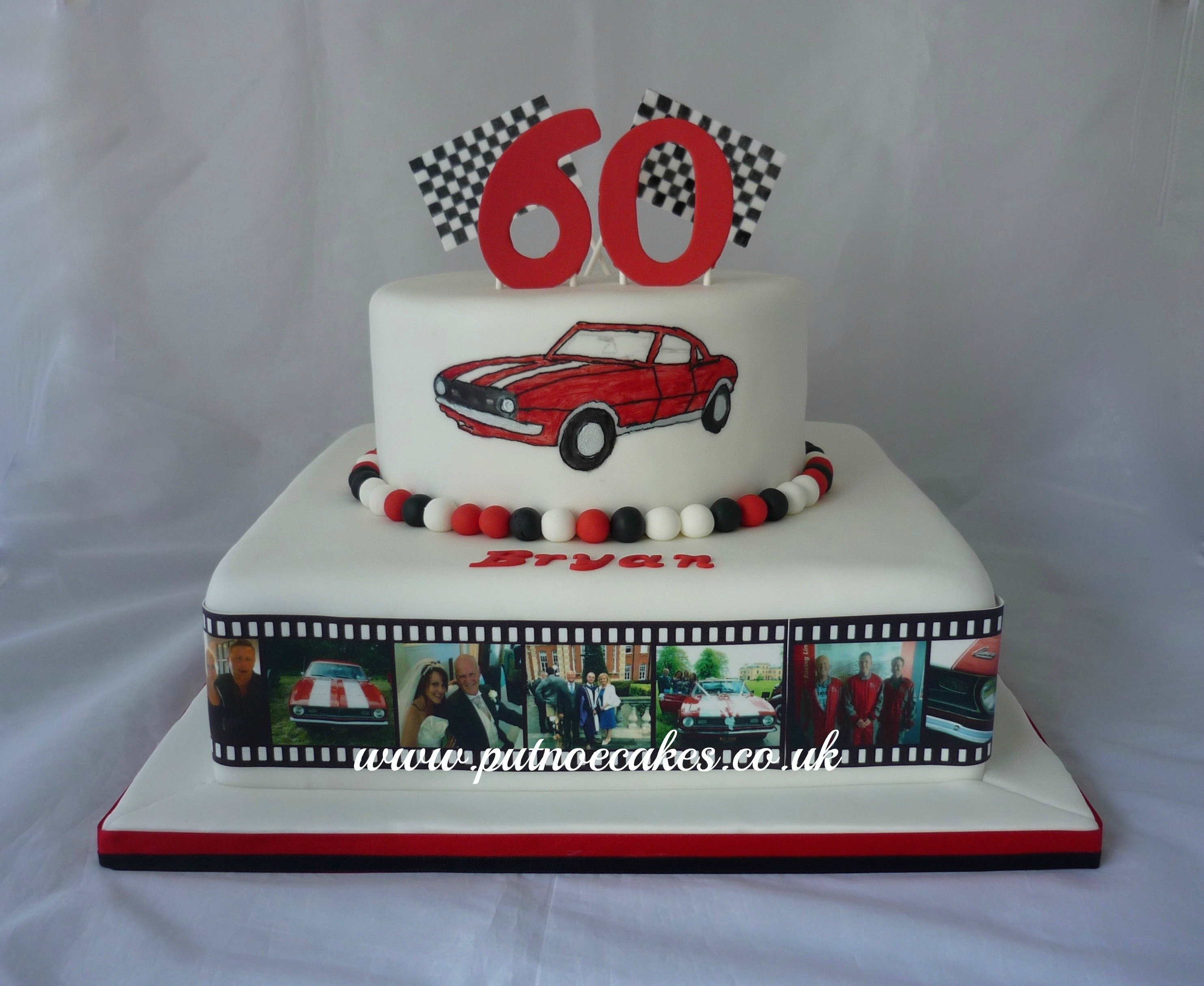 10 Spectacular 60Th Birthday Cake Ideas For Men Mens Cakes Putnoe