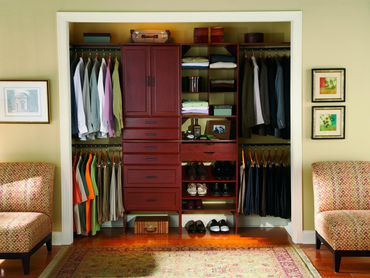 10 Attractive Closet Organization Ideas For Small Closets %name 2021