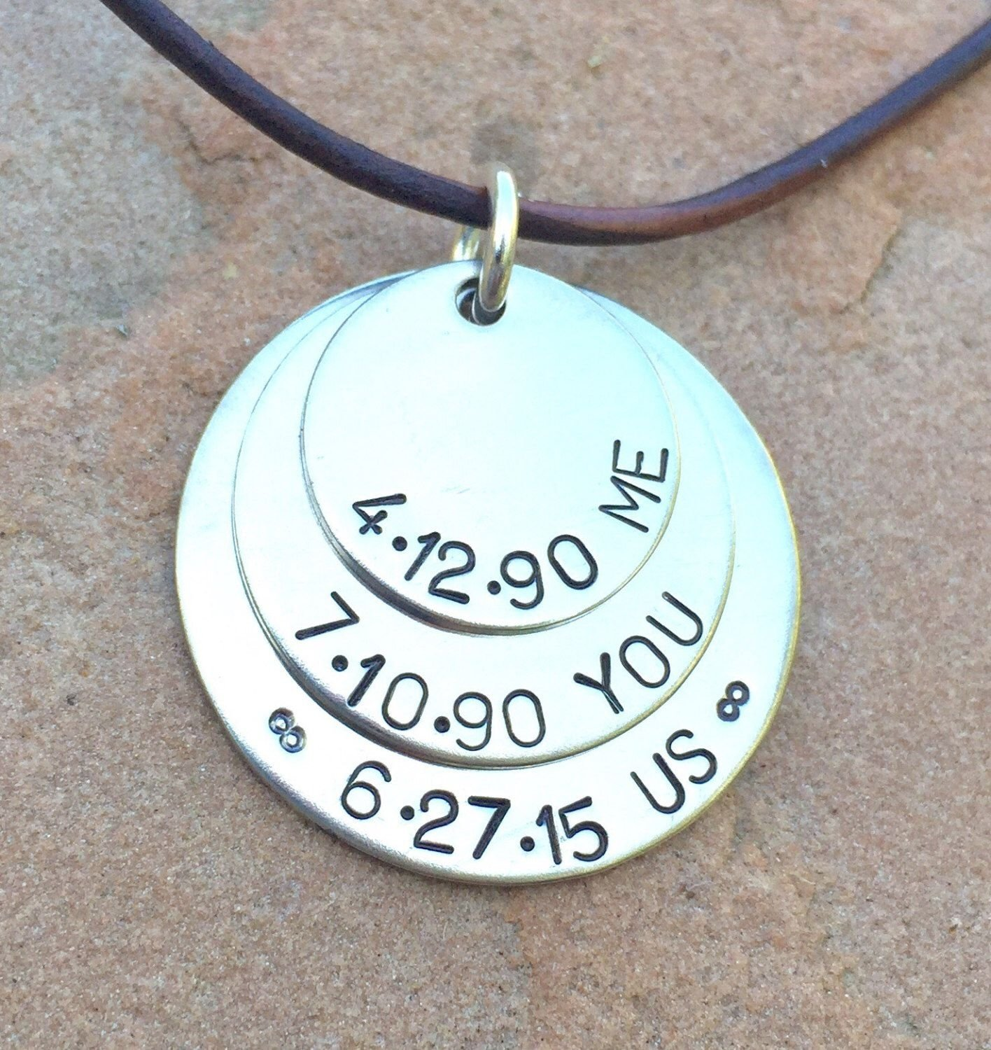 10 Wonderful Personalized Gift Ideas For Him mens necklace boyfriend necklacehusband necklace personalized 2020