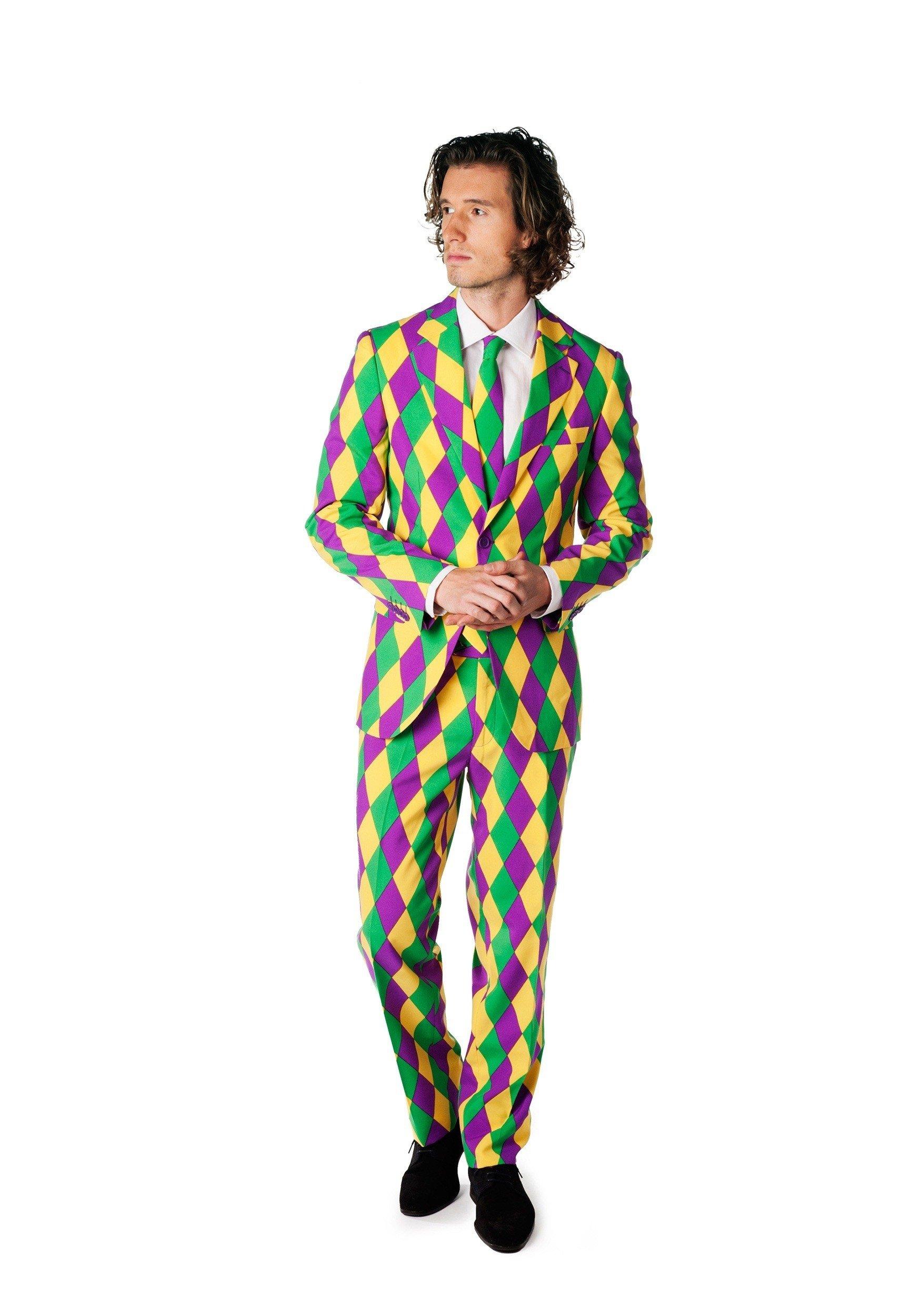 10 Great Mardi Gras Party Outfit Ideas mens opposuits mardi gras suit 2020