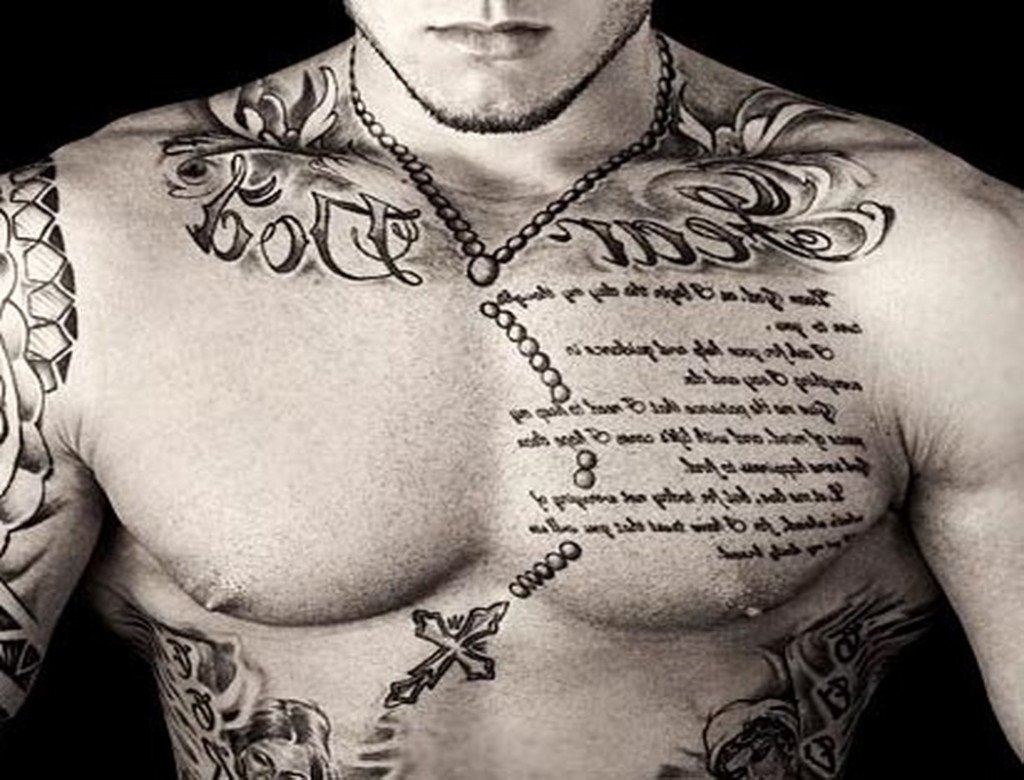 10 Nice Chest Tattoos For Men Ideas
