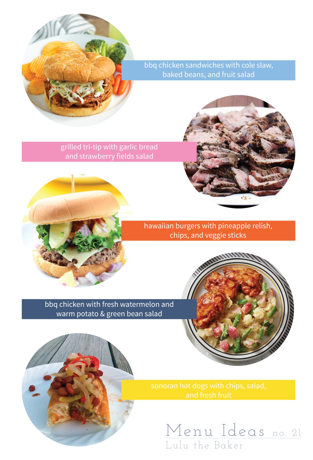 10 Beautiful Fourth Of July Menu Ideas menu ideas 21 fourth of july favorites lulu the baker 1 2021