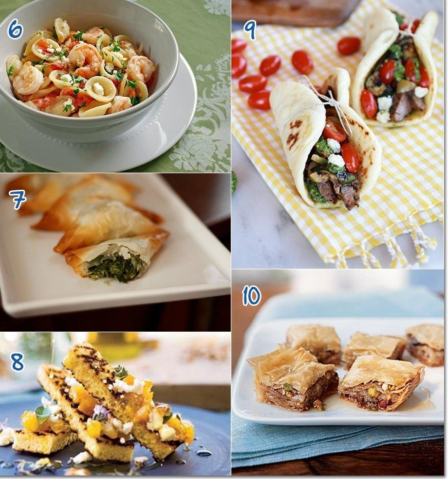 10 Stylish Summer Dinner Party Menu Ideas menu ideas for hosting a mediterranean style summer party 2021