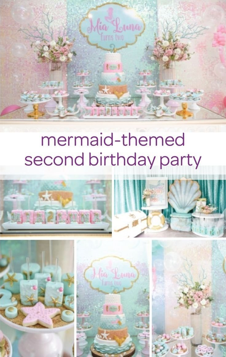 mermaid birthday party | unique party themes, birthday party themes