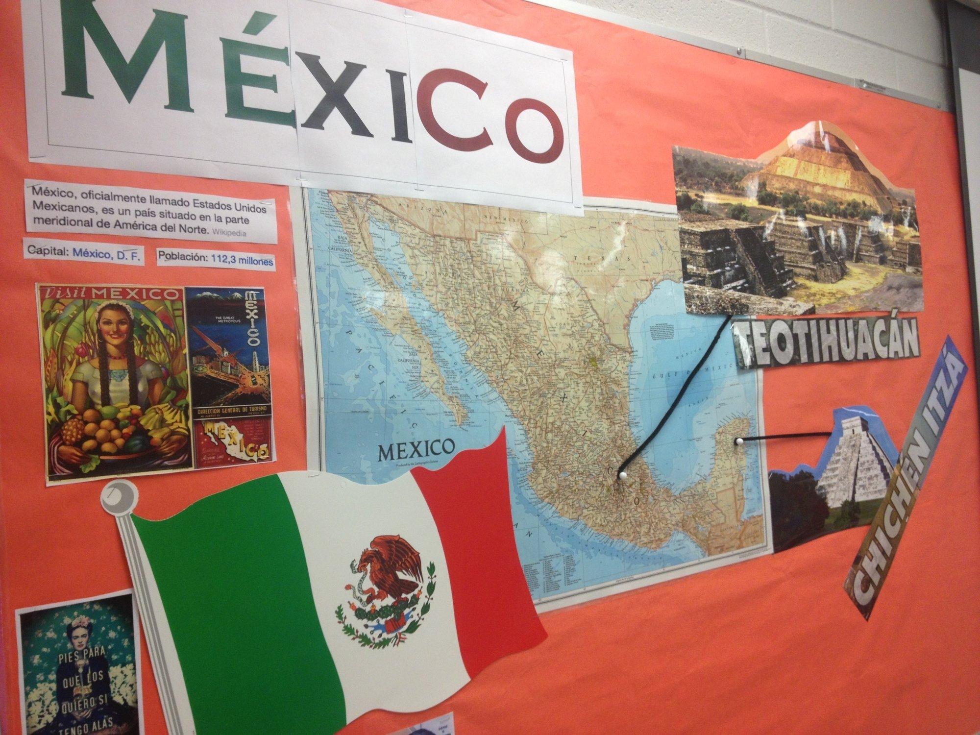10 Best Poster Board Ideas For School Projects mexico bulletin board spanish pinterest bulletin board board 2020