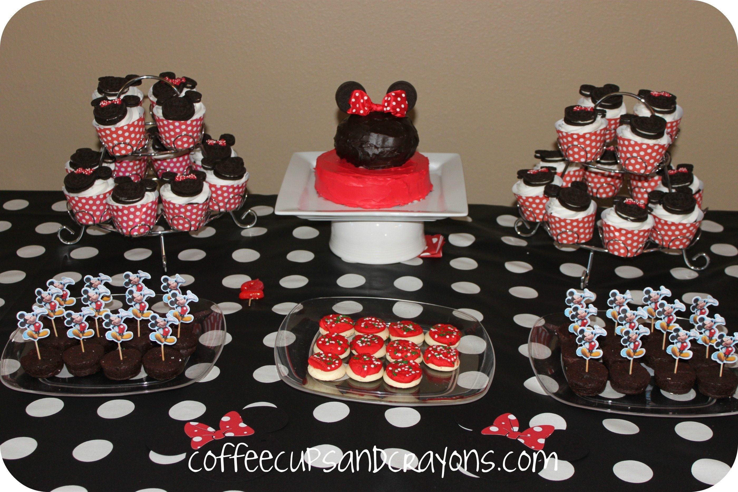 10 Pretty Minnie And Mickey Mouse Party Ideas mickey and minnie food and dessert ideas coffee cups and crayons 5 2021