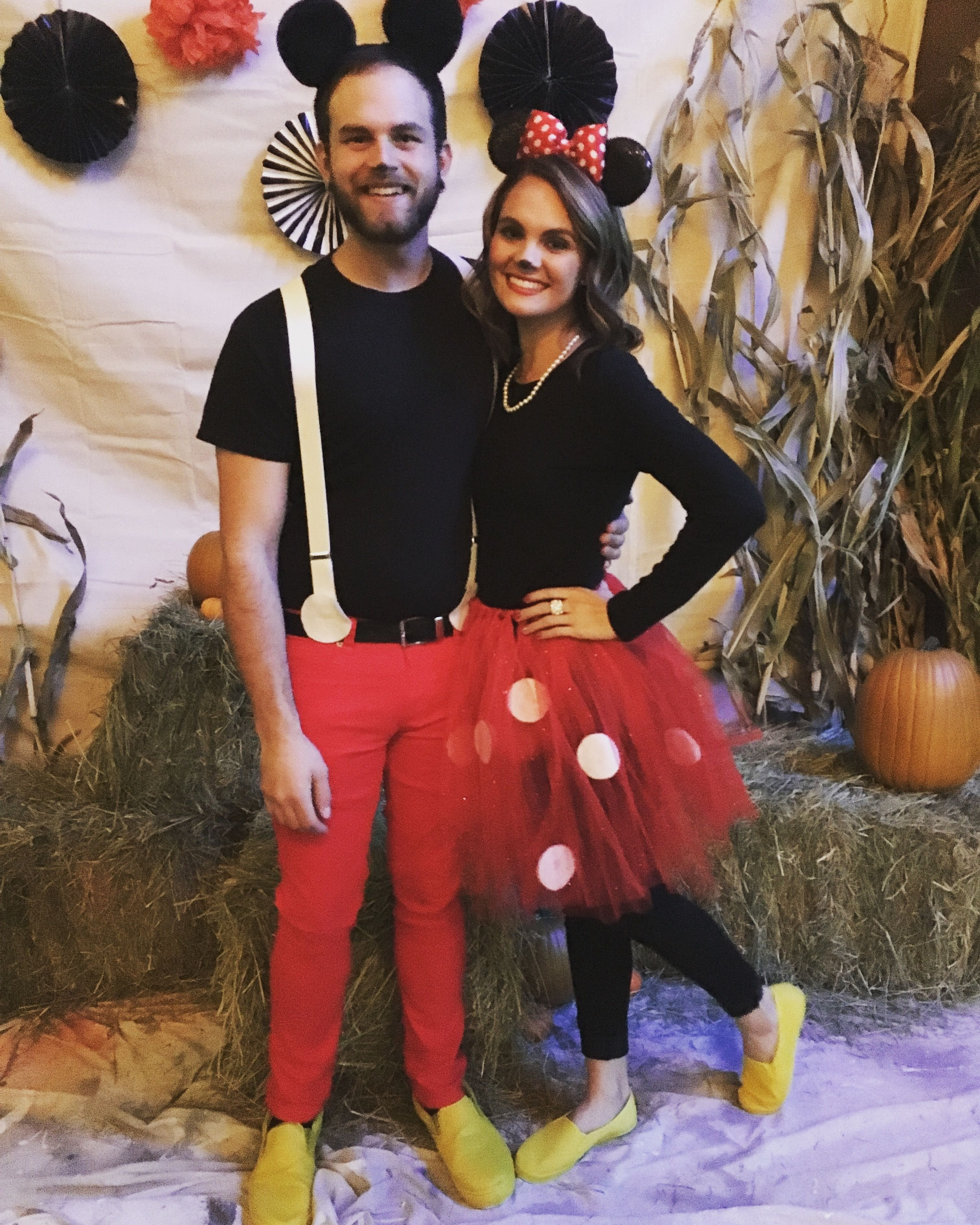 10 Perfect Ideas For Couples Halloween Costumes mickey and minnie mouse halloween couple costume 4 2020