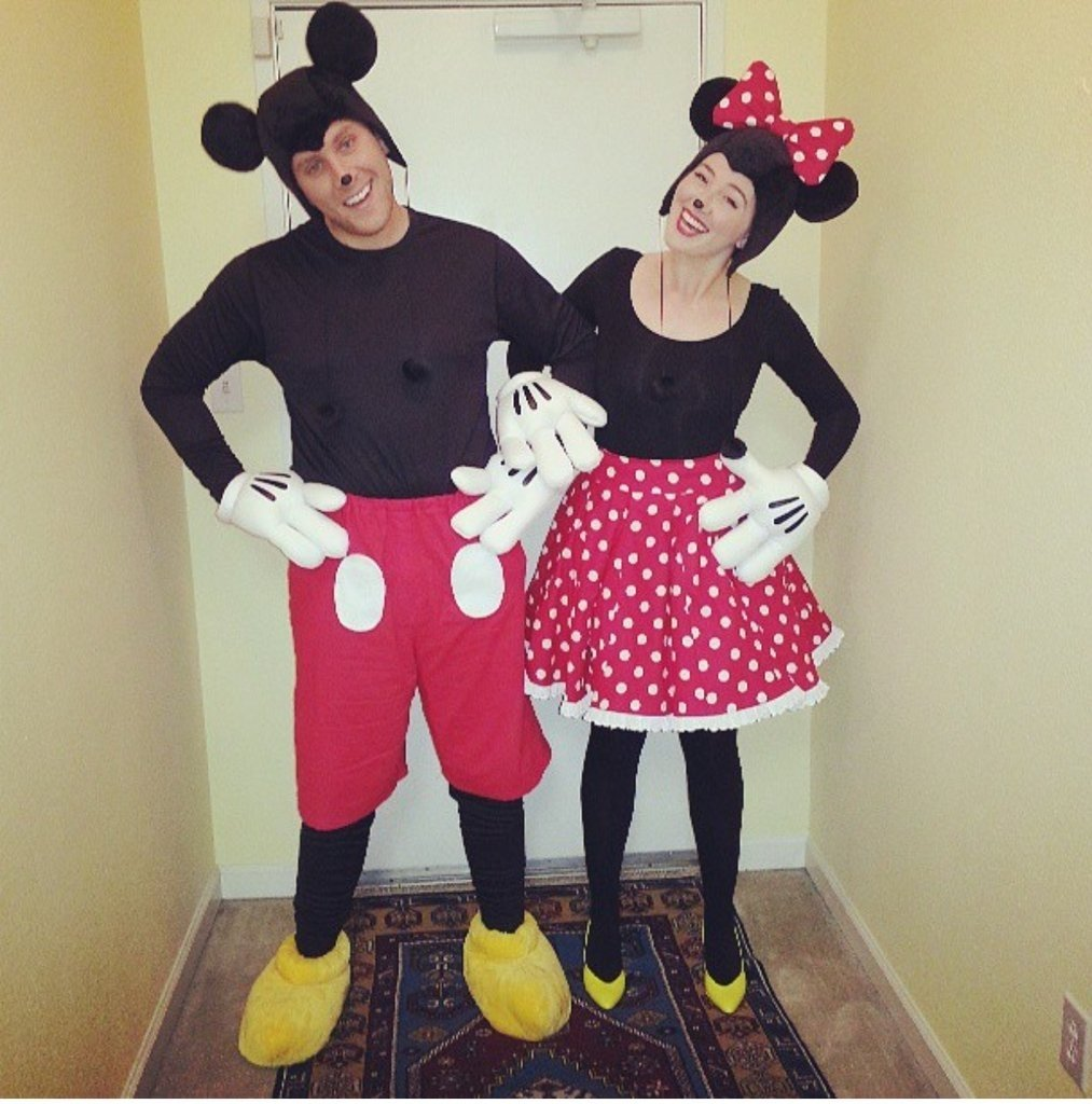 10 Great Minnie Mouse Costume Ideas For Women mickey and minnie mouse homemade halloween couples costumes 2020