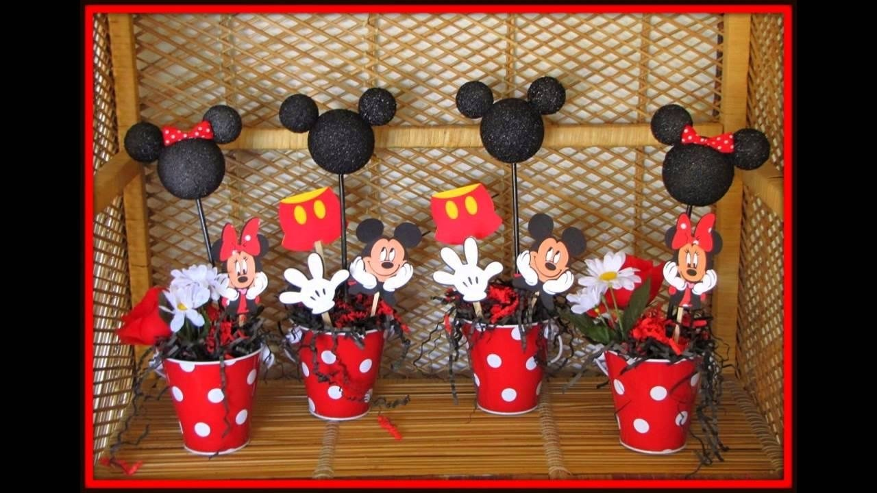 mickey mouse baby shower decorations ideas - youtube