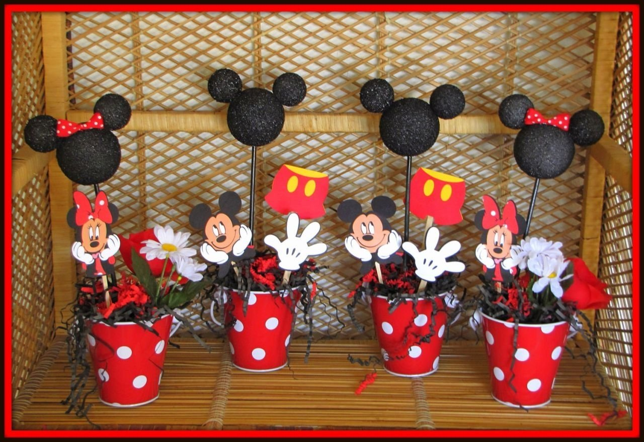 10 Elegant Mickey Mouse Party Decoration Ideas Birthday Cake Design And Cookies