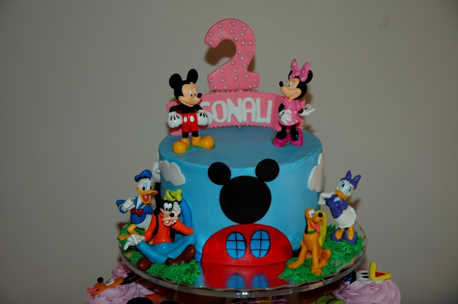 10 Most Popular Mickey Mouse Birthday Cake Ideas Decoration Little Cakes