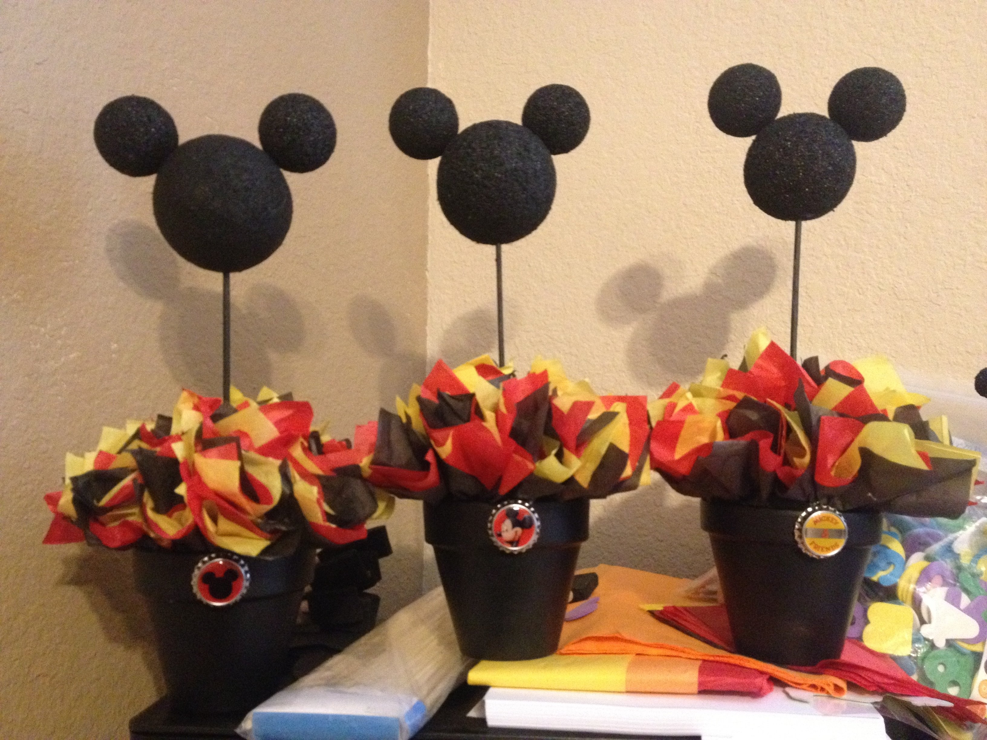 10 Lovely Mickey Mouse Party Ideas Pinterest mickey mouse centerpiece mickey mouse party ideas pinterest