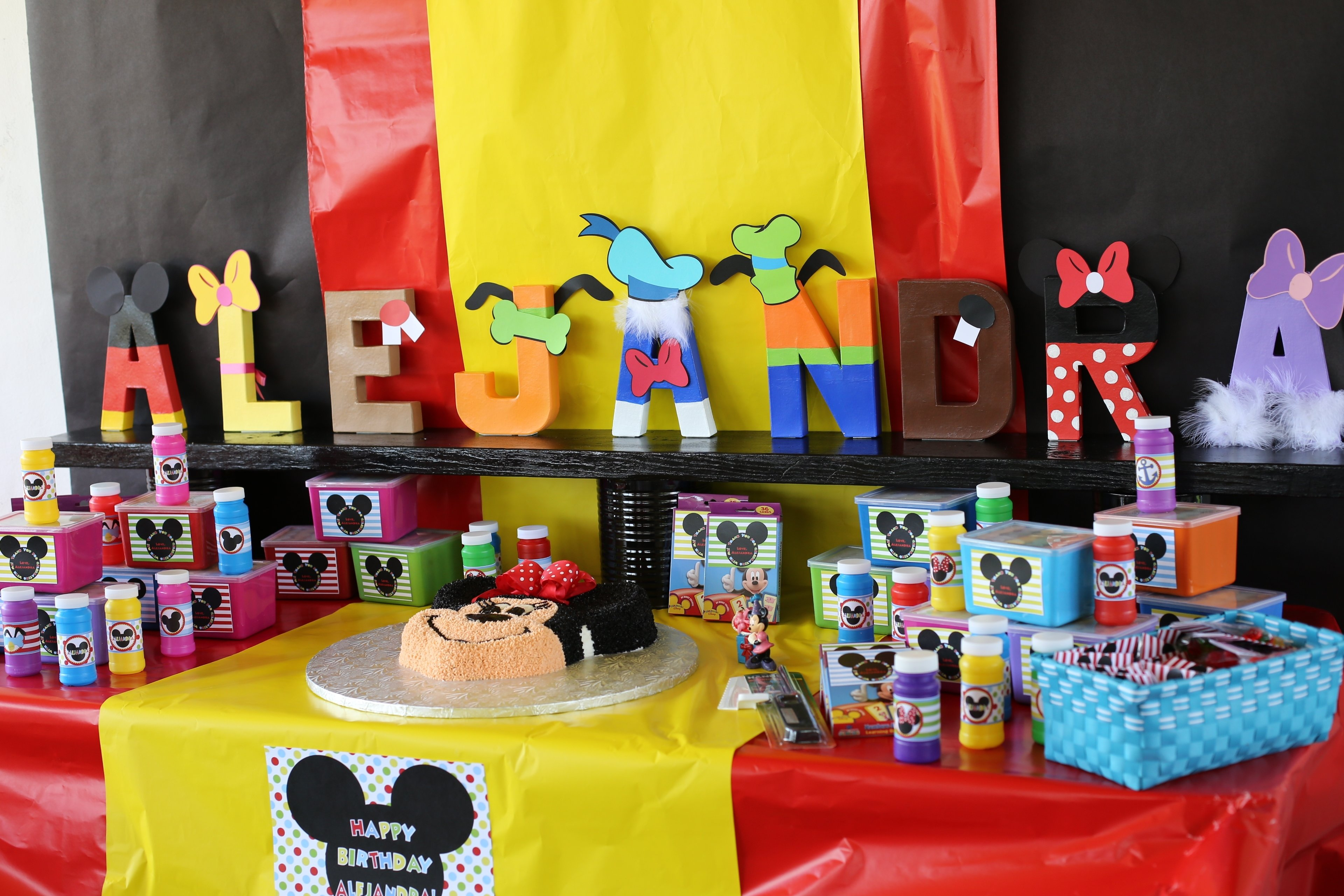10 Beautiful Mickey Mouse Clubhouse Party Ideas 1St Birthday mickey mouse clubhouse birthday party cake table ideas collection