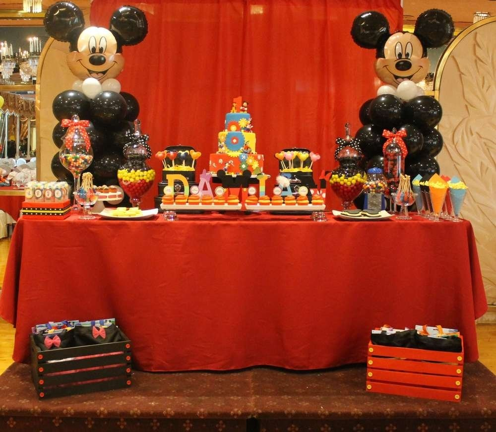 mickey mouse clubhouse birthday party ideas | mickey mouse clubhouse