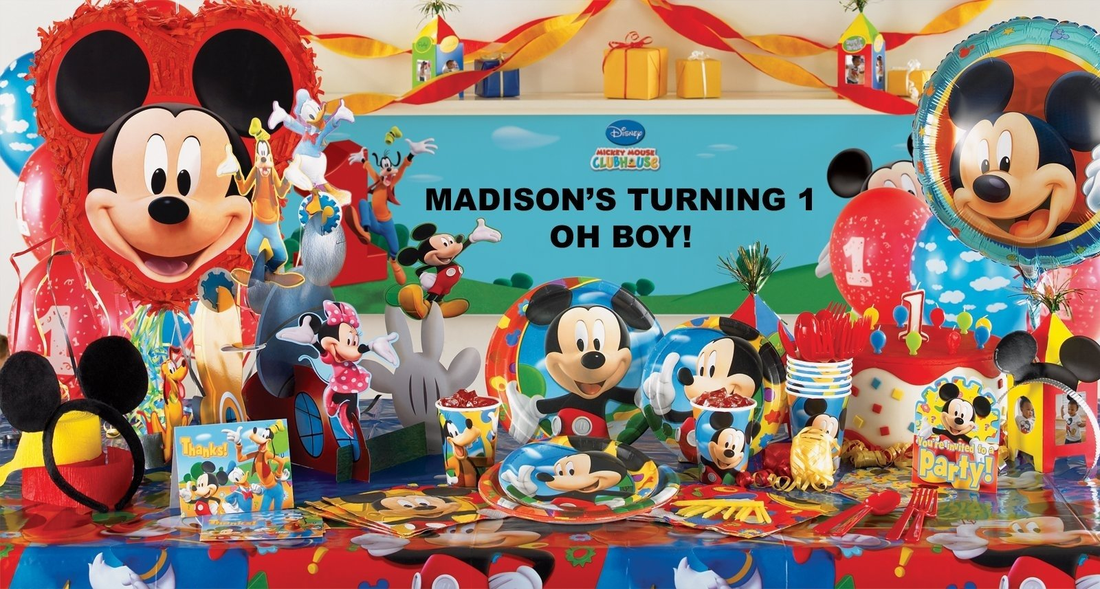 10 Beautiful Mickey Mouse Clubhouse Party Ideas 1St Birthday mickey mouse clubhouse decorations party city mickey mouse