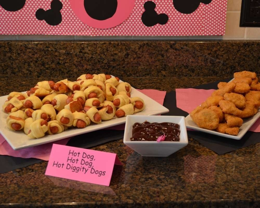 10 Fabulous Minnie Mouse Birthday Party Food Ideas mickey mouse clubhouse or minnie mouse birthday party ideas mickey 1 2020