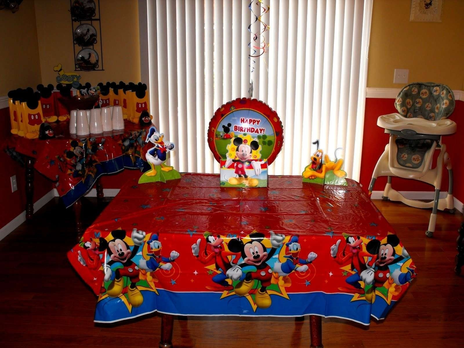 10 Fabulous Mickey Mouse Clubhouse Party Ideas Decorations Beautiful