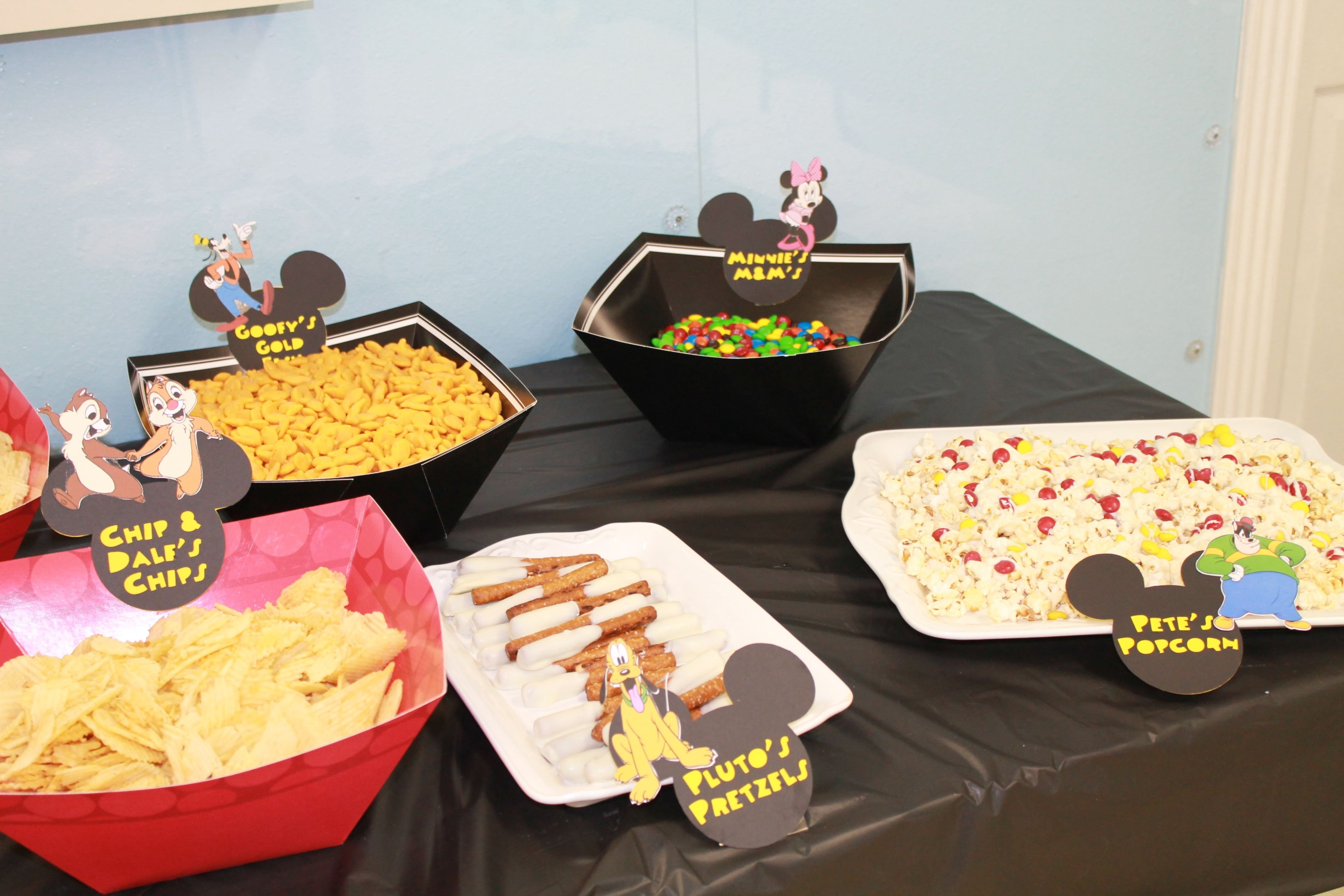 10 Ideal Mickey Mouse Birthday Party Food Ideas mickey mouse clubhouse party food layne 1st birthday pinterest 2021