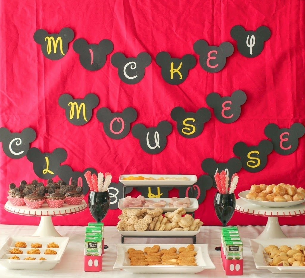 10 Fantastic Mickey Mouse Themed Birthday Party Ideas mickey mouse clubhouse party ideas free mickey mouse printables 1 2020