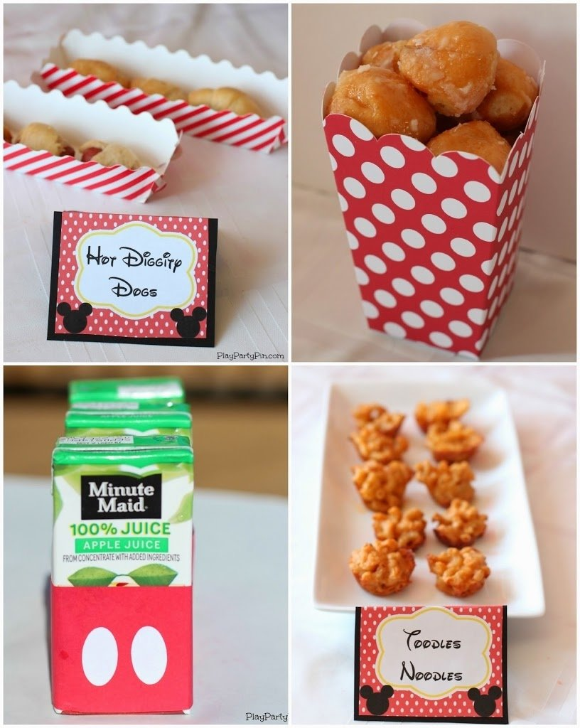10 Awesome Mickey Mouse Party Food Ideas mickey mouse clubhouse printables play party plan 2