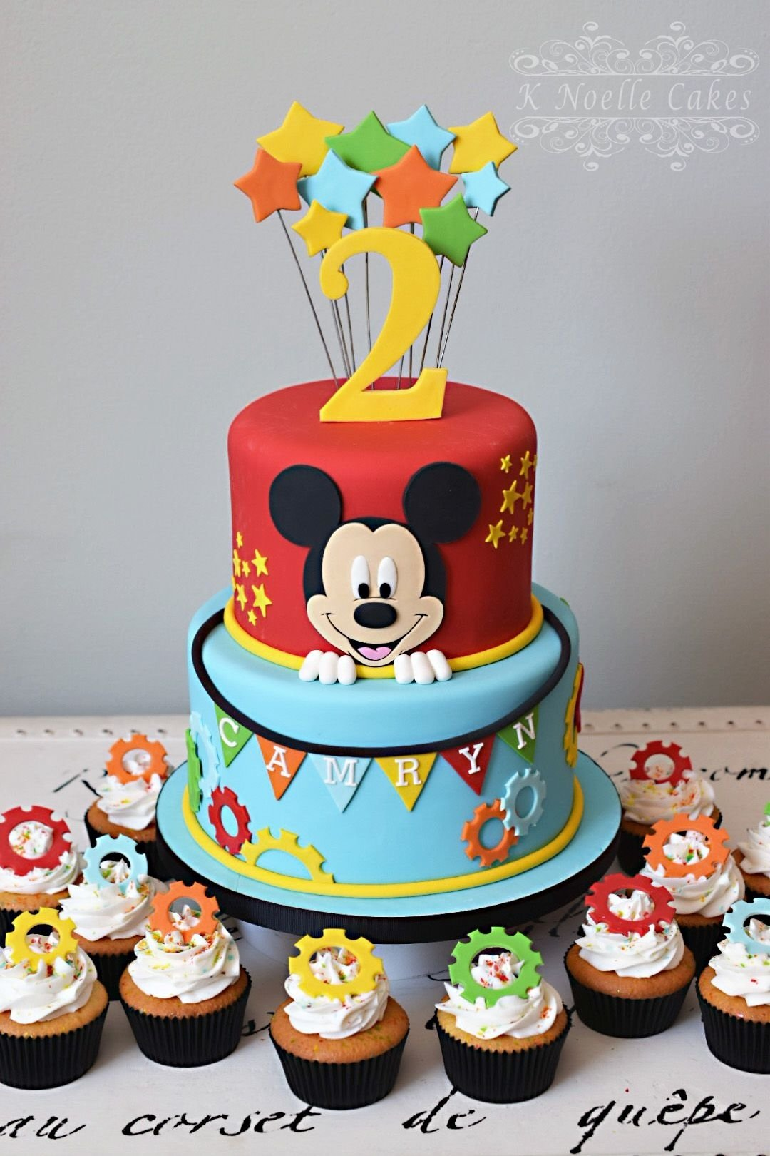 mickey mouse clubhouse theme cakek noelle cakes | cakes by: k