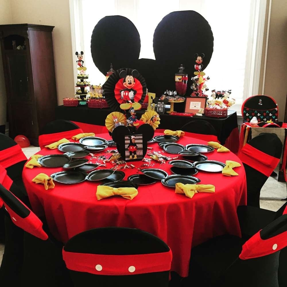 mickey mouse / minnie mouse birthday party ideas | mickey minnie
