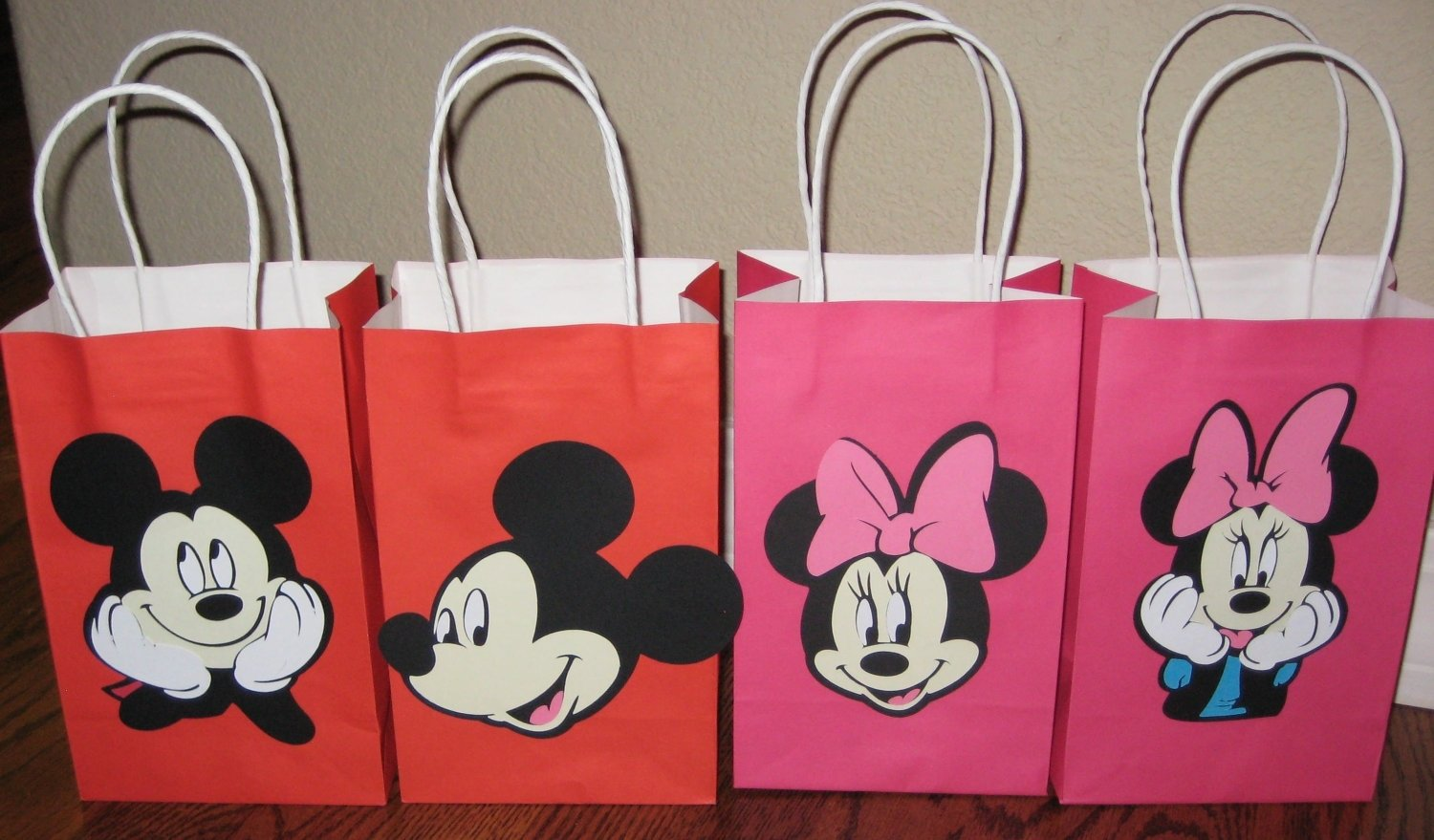 10 Beautiful Minnie Mouse Candy Bags Ideas mickey mouse minnie mouse party goodie treat lootpaigerobers 1