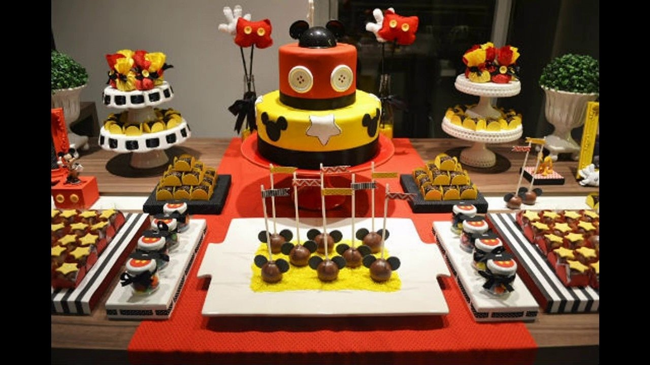 10 Elegant Mickey Mouse Party Decoration Ideas mickey mouse party decorating ideas youtube