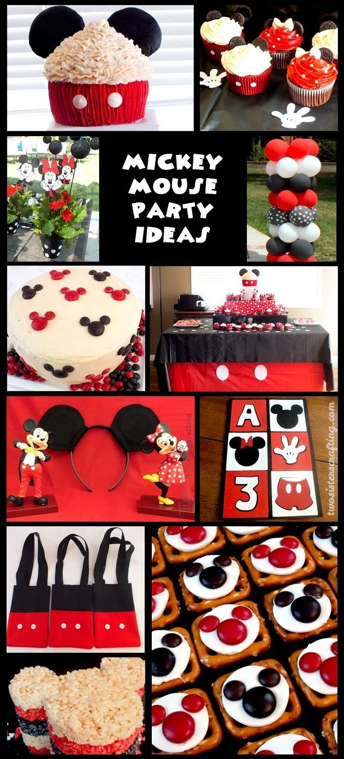 10 Awesome Mickey Mouse Birthday Party Ideas mickey mouse party ideas anniversaire theme de mickey fetes et 1