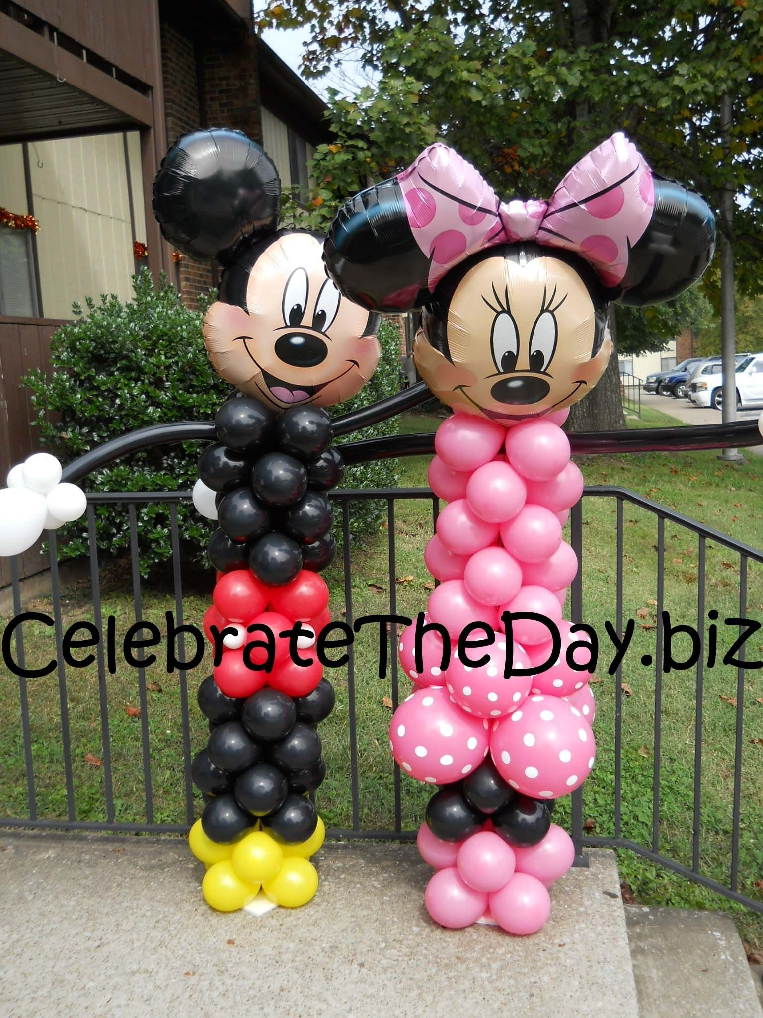 10 Perfect Mickey And Minnie Mouse Party Ideas mickey mouse party supplies and minnie balloon decorations disney 1 2020