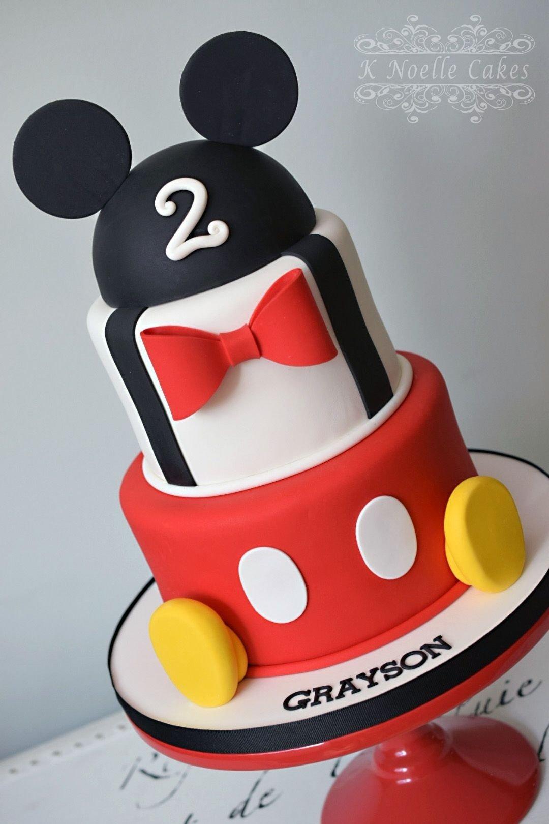 10 Most Popular Mickey Mouse Birthday Cake Ideas mickey mouse themed cakek noelle cakes disneys mickey minnie 2020