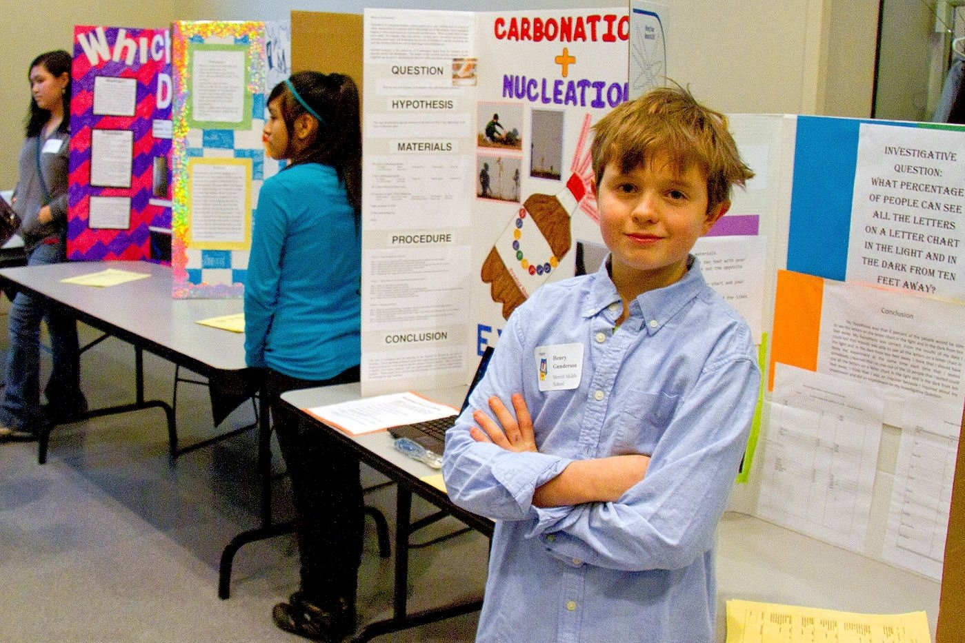 10 Lovable Advanced Science Fair Project Ideas middle school student projects on display at annual science fair 2021