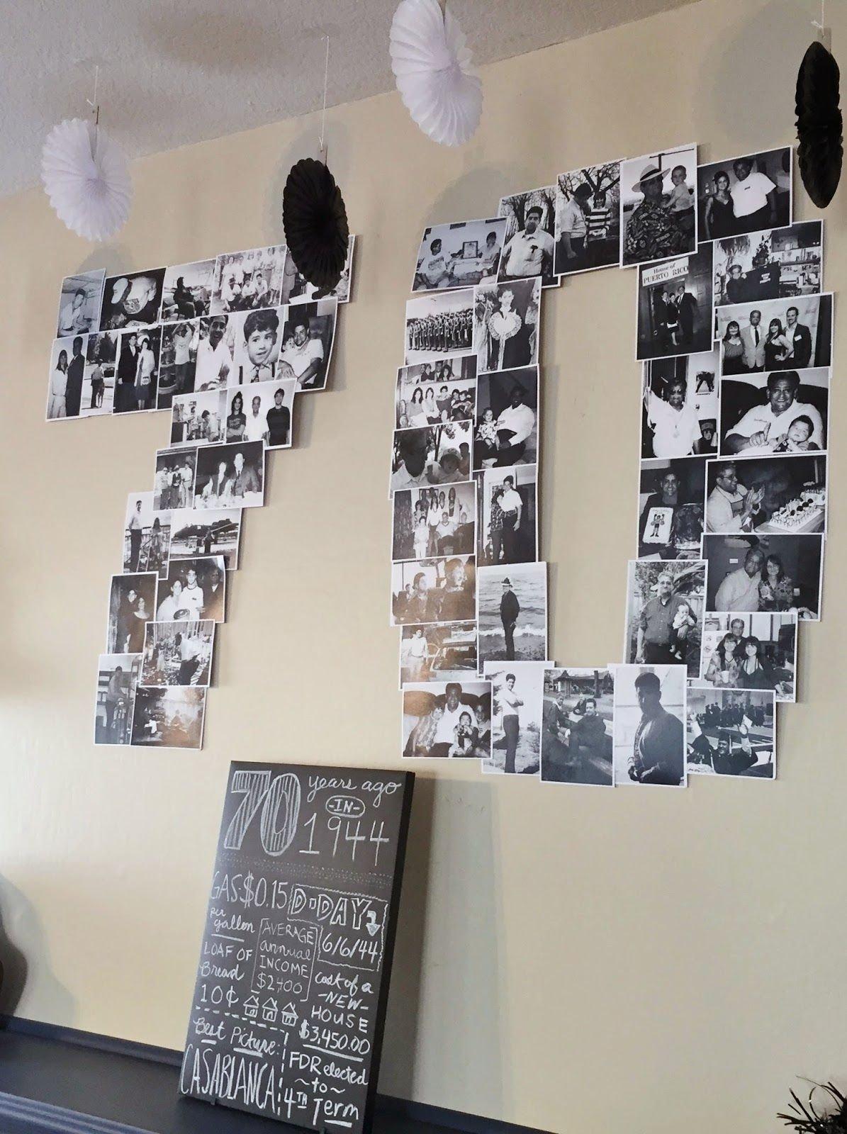 milestone birthday: planning my dad's 70th birthday party | big