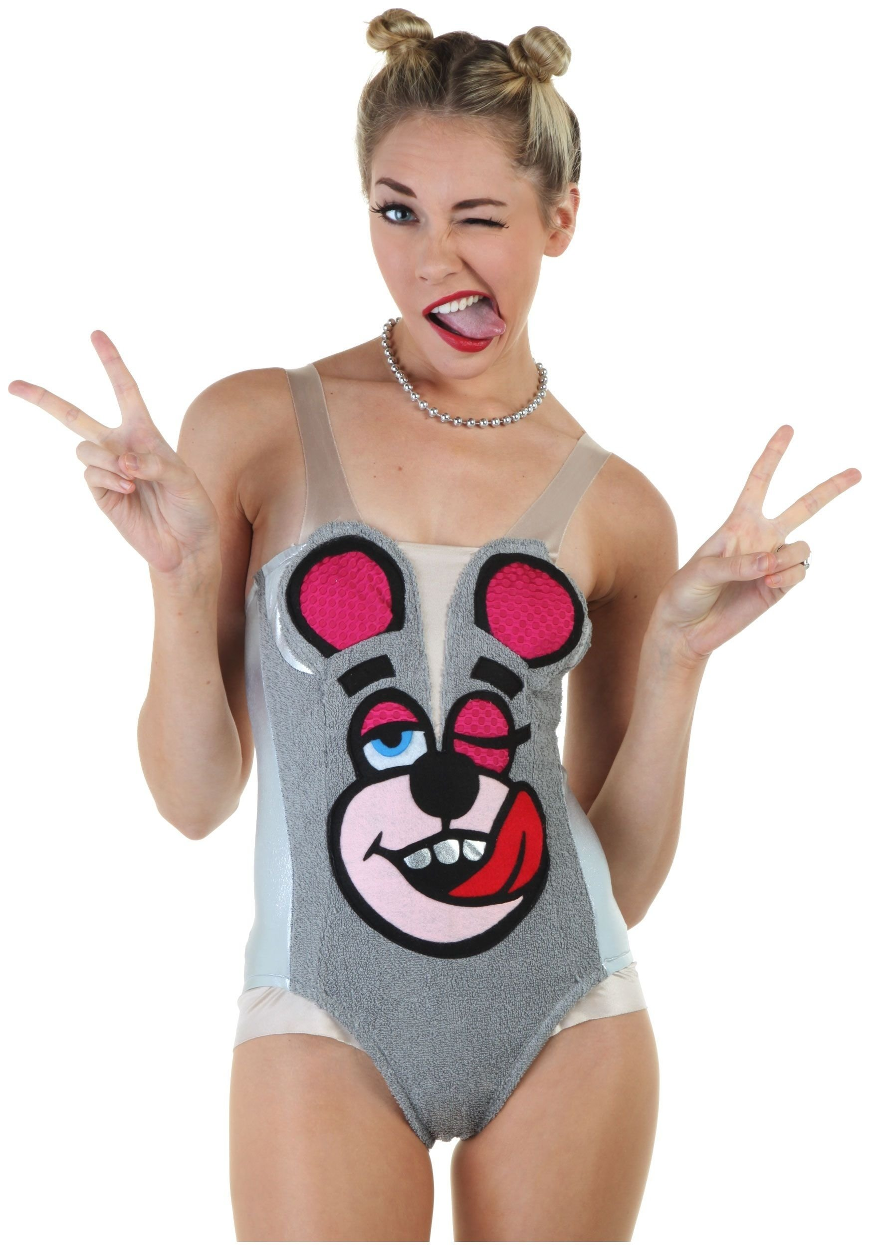 10 Lovable Miley Cyrus Halloween Costume Ideas miley cyrus twerking teddy bear halloween costume so would get 2021