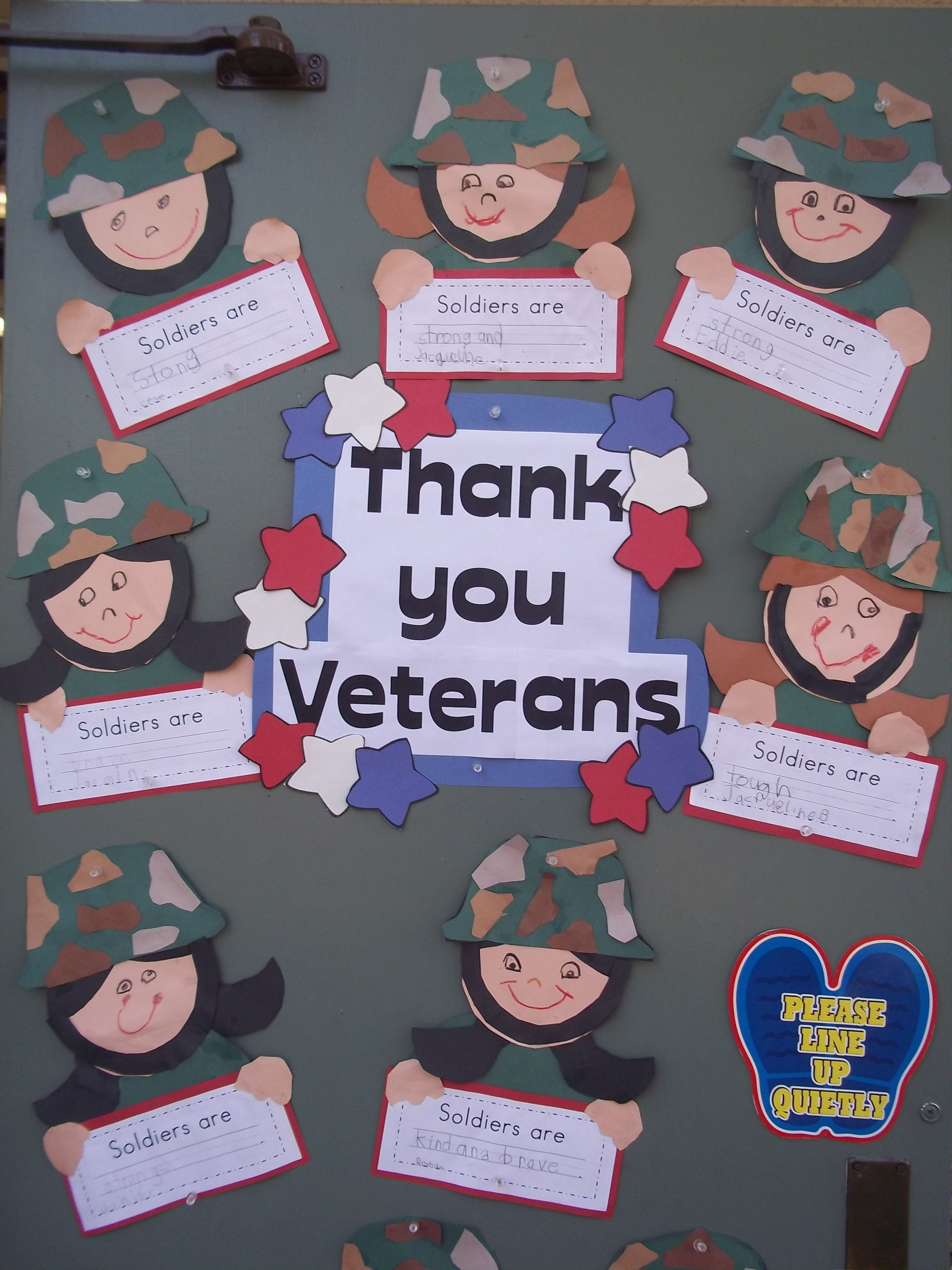 10 Lovely Veterans Day Bulletin Board Ideas military veterans this is a great idea for our veterans day 2020