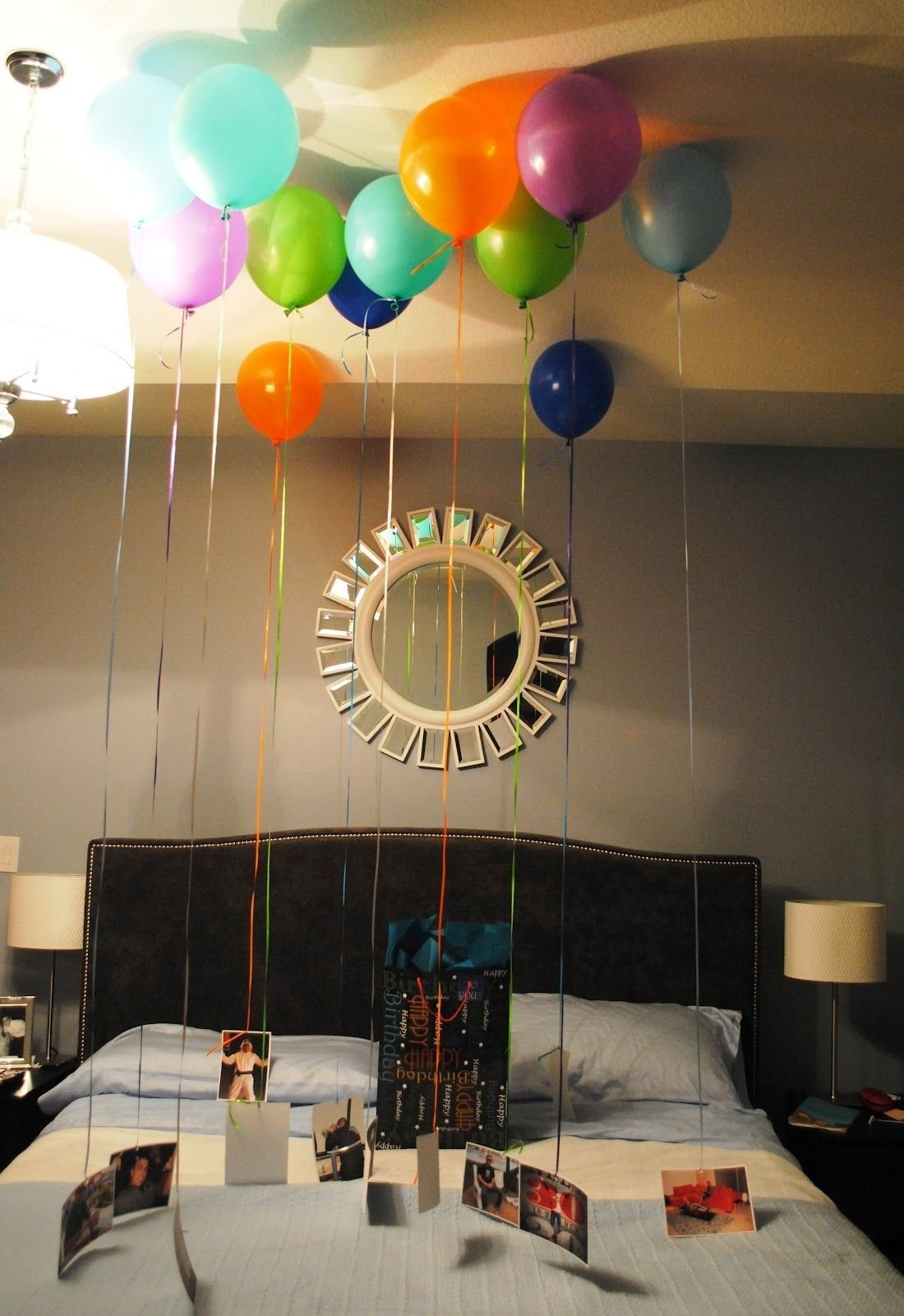 10 Spectacular Ideas For A Surprise Birthday Party mind my beeswax hubbys birthday balloon surprise birthday 1 2020