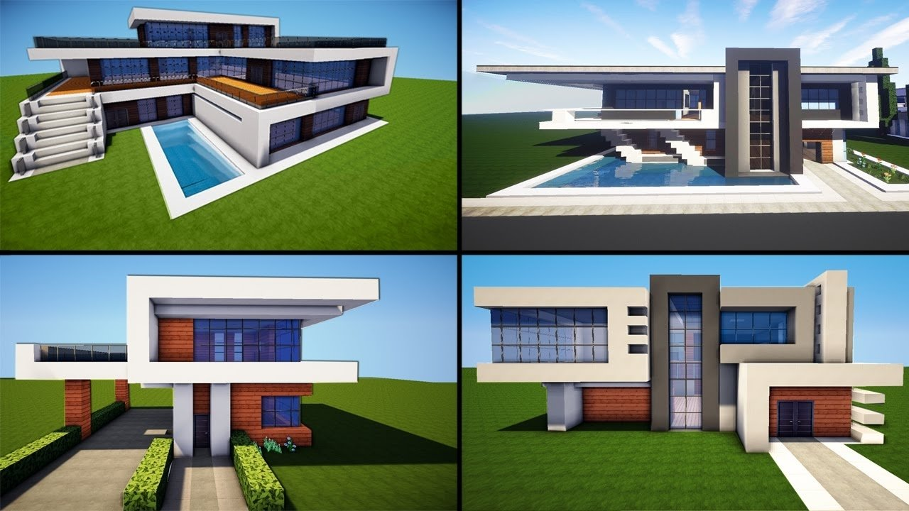 10 Wonderful Cool House Ideas For Minecraft minecraft 30 awesome modern house ideas tutorial download 2016 2020