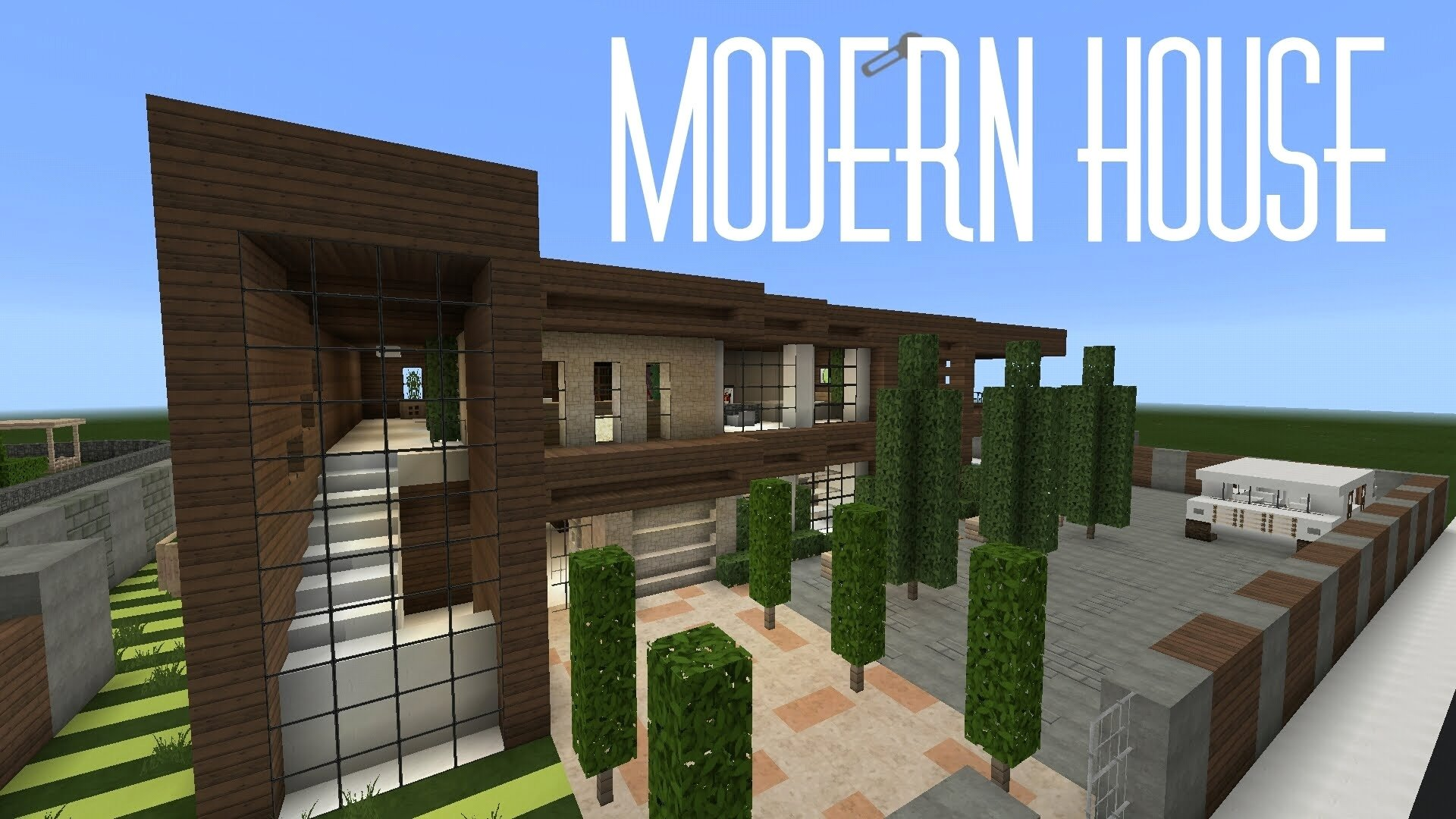 minecraft houses ideas pe avec minecraft modern build idees et