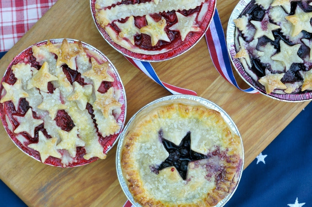 10 Lovable 4Th Of July Menu Ideas Martha Stewart mini berry pies celebrating the 4th of july 2021