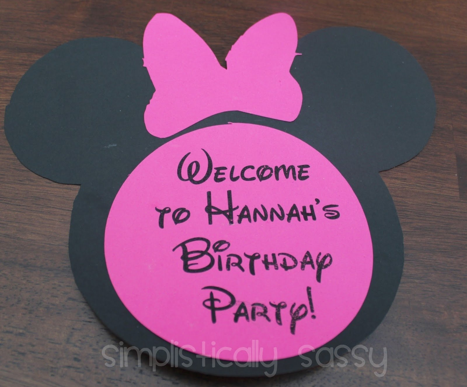 10 Elegant Minnie Mouse Birthday Party Ideas For A 2 Year Old mini minnie mouse birthday party on a budgetsimplistically sassy 2020