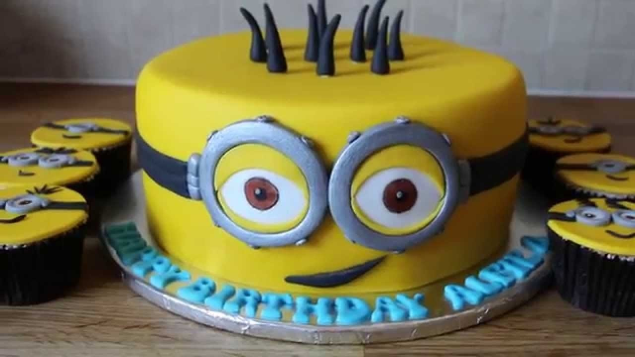10 Trendy Despicable Me Birthday Cake Ideas minion birthday cake youtube