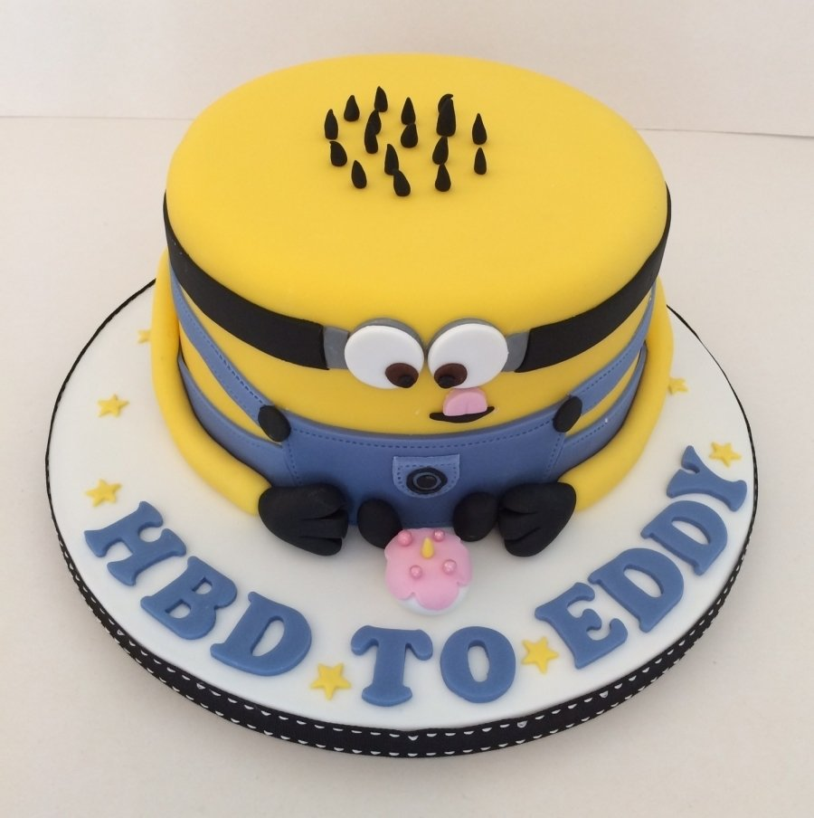 10 Trendy Despicable Me Birthday Cake Ideas minion birthday cake