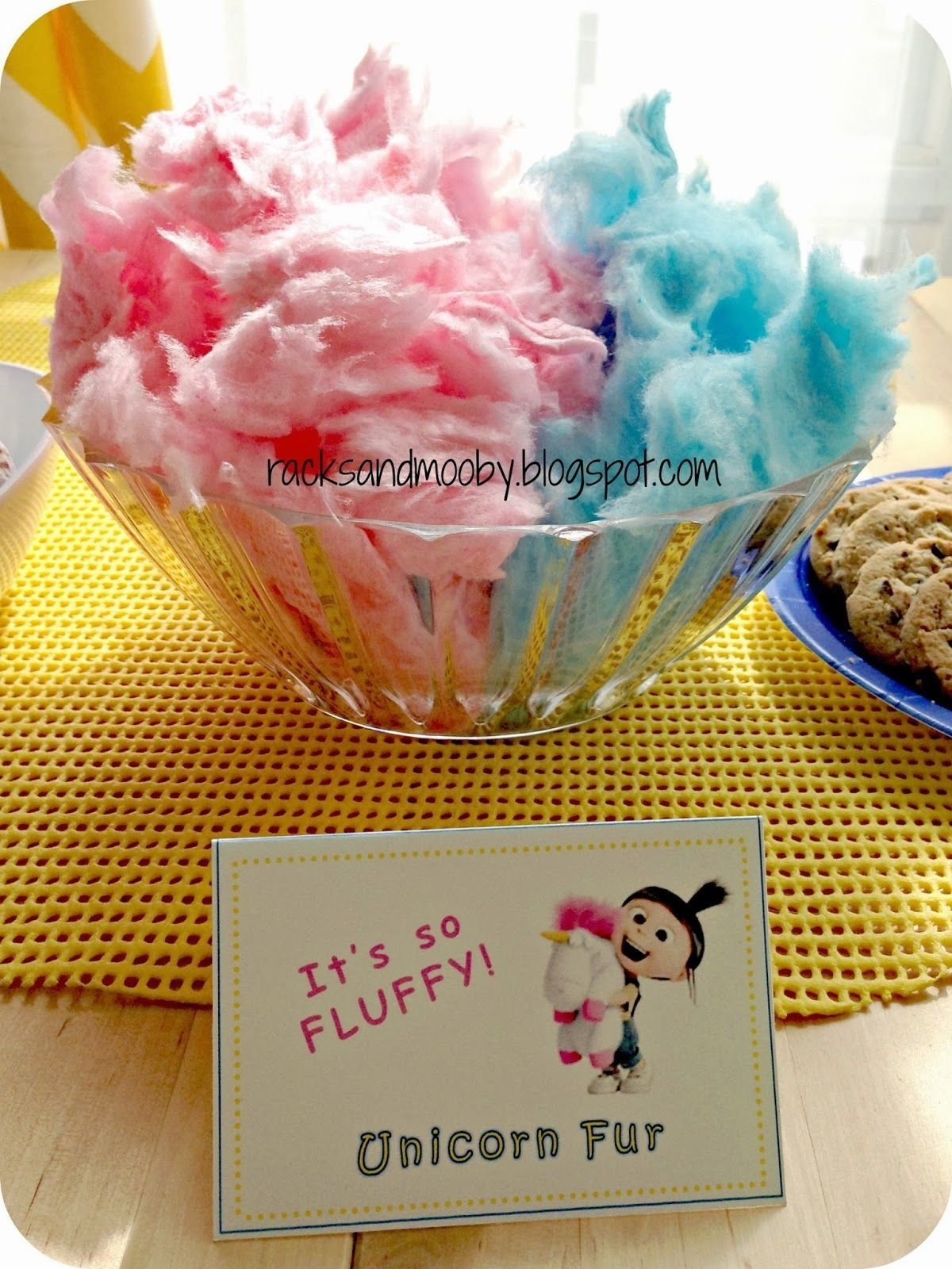 10 Stylish Despicable Me Party Food Ideas minion party snacks despicable me party fluffy unicorn fur