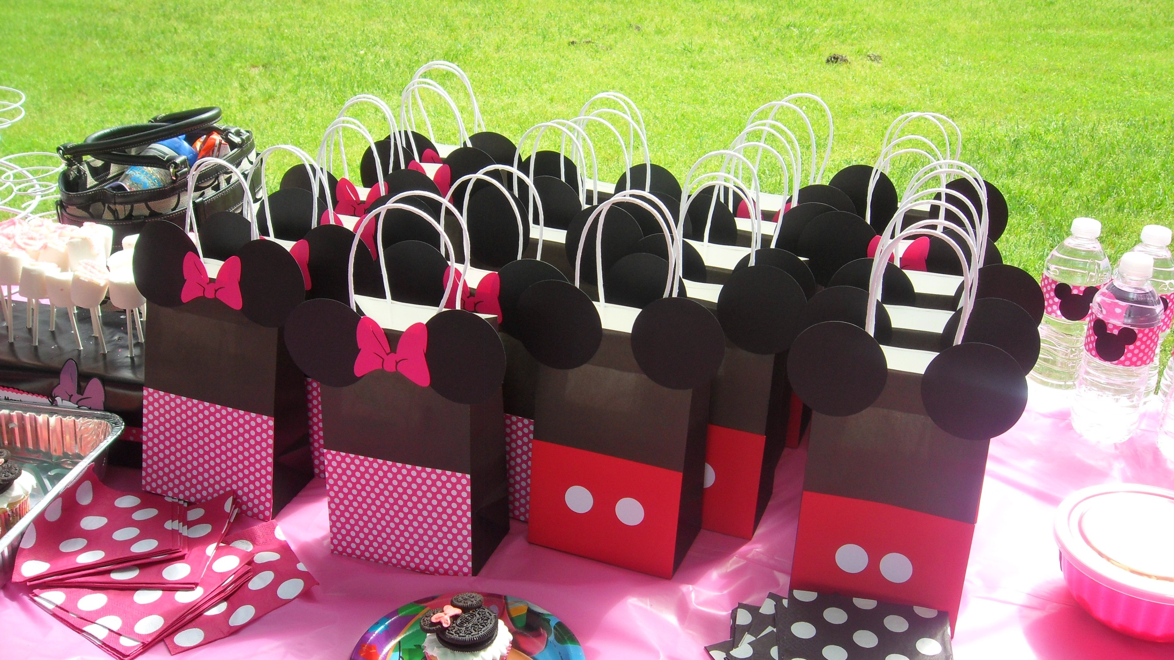 10 Stunning Minnie And Mickey Party Ideas minnie and mickey goodie bags from gs 3rd birthday my absolute 2020