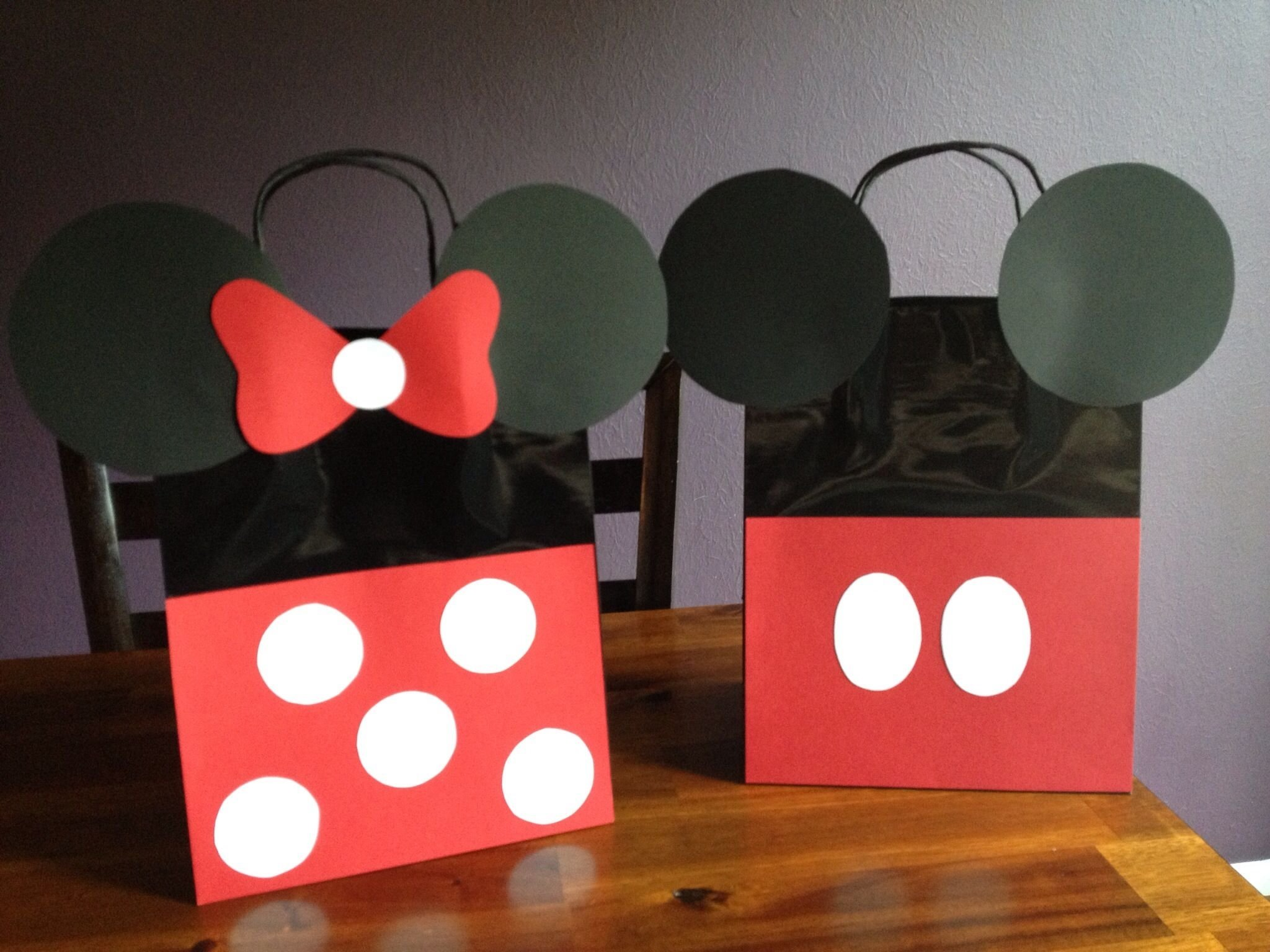 10 Attractive Mickey Mouse Goody Bag Ideas minnie and mickey mouse party favor bags minnie mouse birthday 2020