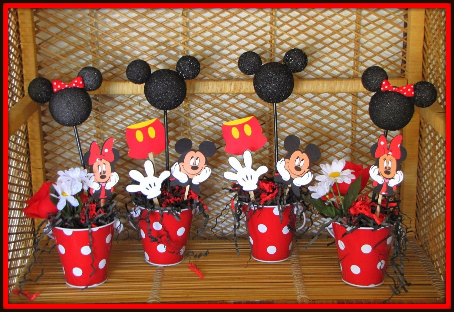 10 Lovely Mickey Mouse Party Ideas Pinterest minnie and mickey party decorations photos mickey mouse birthday