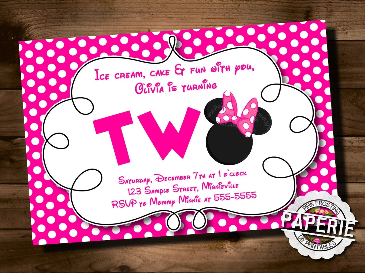 10 Most Popular Minnie Mouse 2Nd Birthday Party Ideas minnie mouse 2nd birthday invitations minnie mouse 2nd birthday