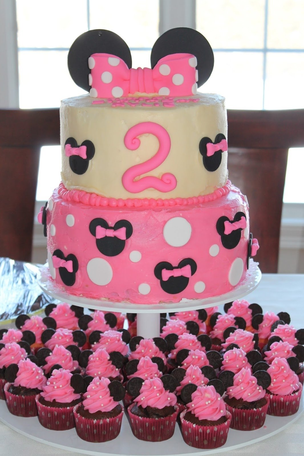 10 Most Popular Minnie Mouse 2Nd Birthday Party Ideas minnie mouse 2nd birthday party 3