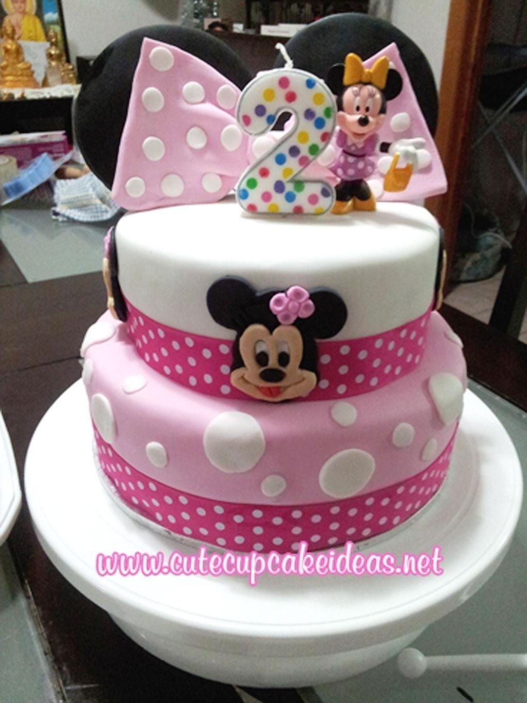 10 Ideal Minnie Mouse Birthday Cake Ideas minnie mouse birthday cupcake ideas birthday cake cake ideas