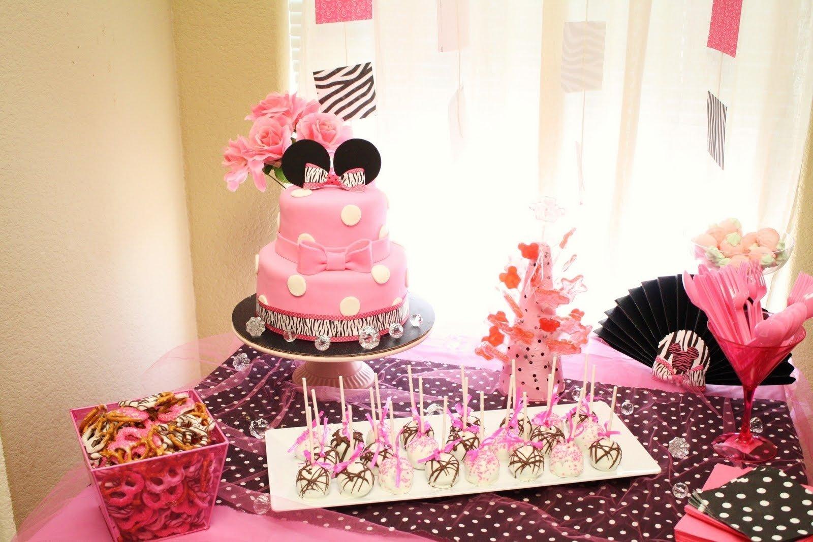 10 Wonderful Minnie Mouse 1St Birthday Ideas minnie mouse birthday ideas diy minnie mouse decoration ideas for 1 2020